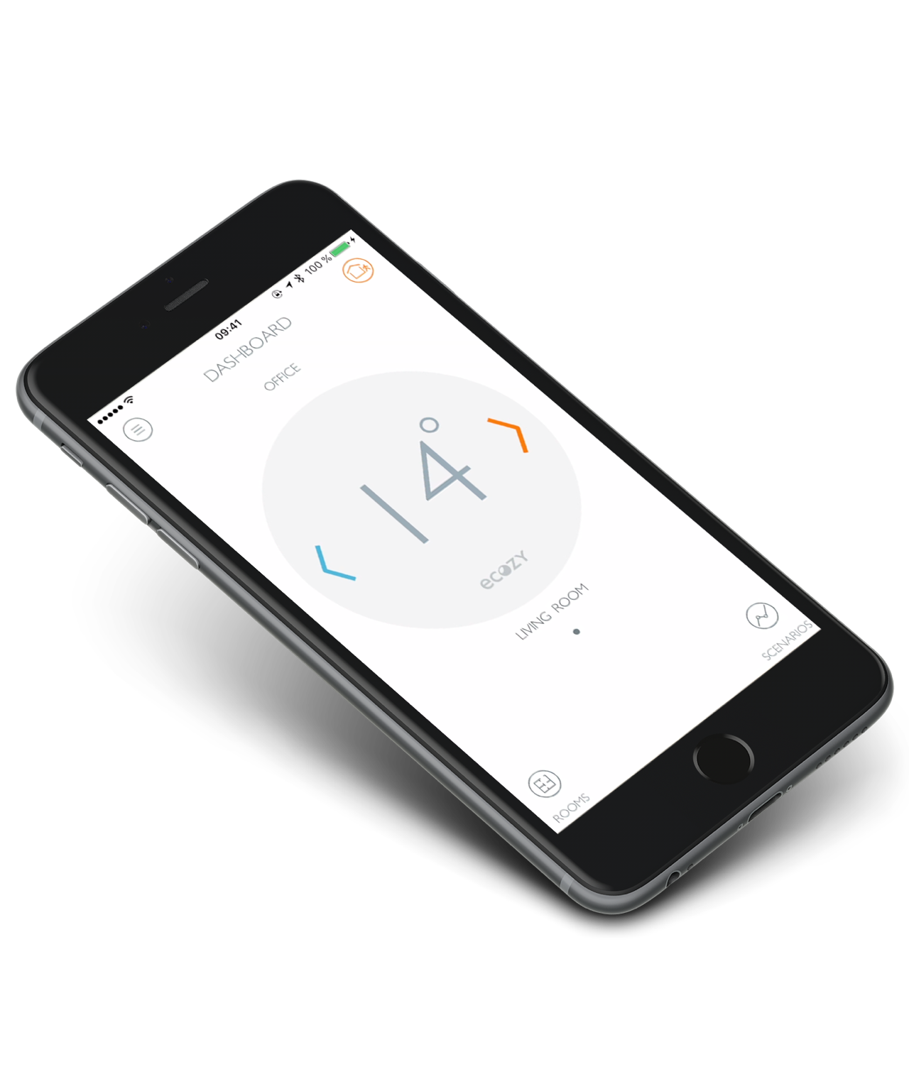 The eCozy app offers you maximum comfort over your heating control